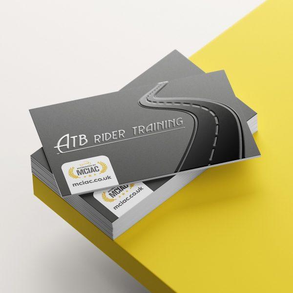 3D Spot Varnish Business Cards