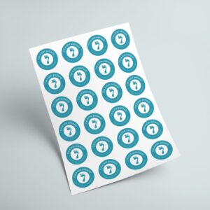 Stickers on A4 Sheets (Custom)