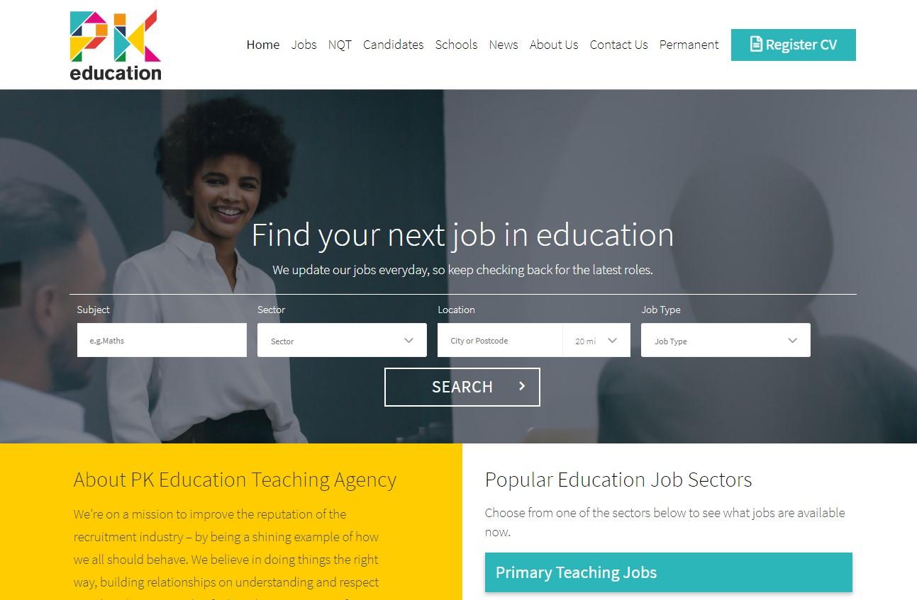 Portfolio-PK-Education-Website-Design