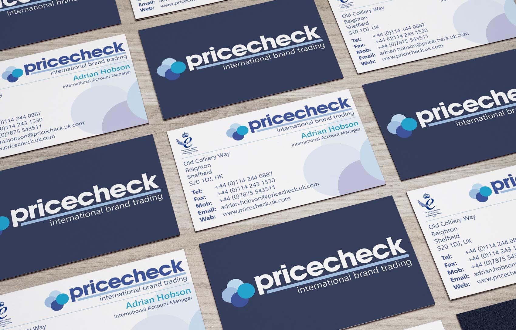 Portfolio-pricecheck-business-card-design