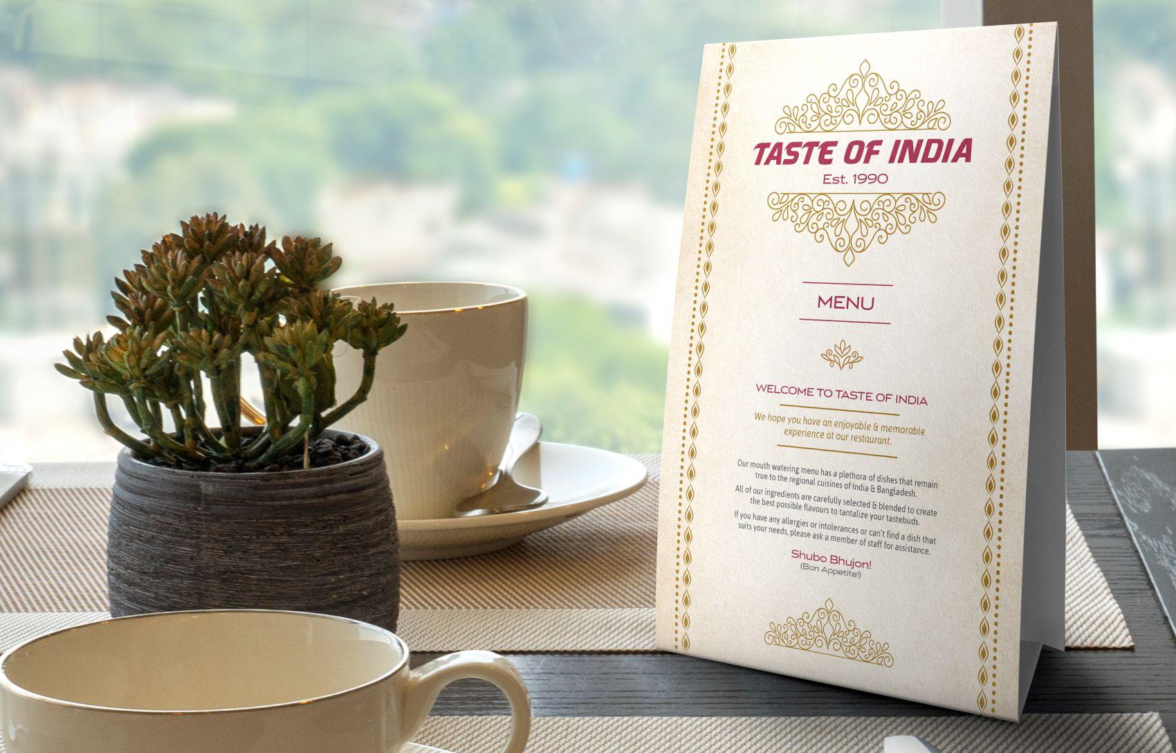 Menu-Design-Mockup-Taste-Of-India