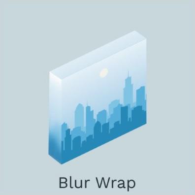 Blur Wrap