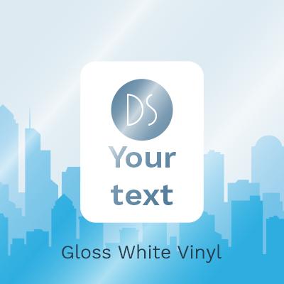 Gloss White Vinyl