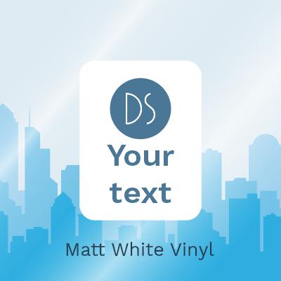 Matt White Vinyl