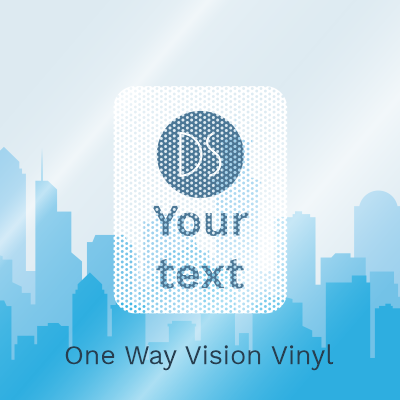 One Way Vision Vinyl